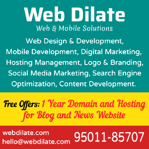 web dilate side banner
