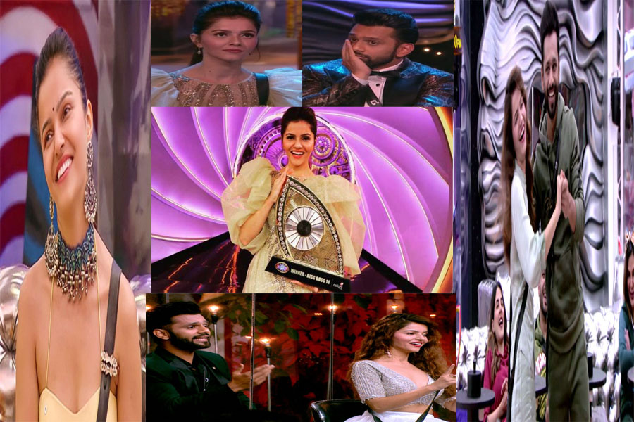 "Rubina Dilac won the title of ""Bigg Boss"" 14,"