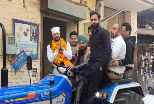 Himanshu Malik to contest city council election as independent candidate