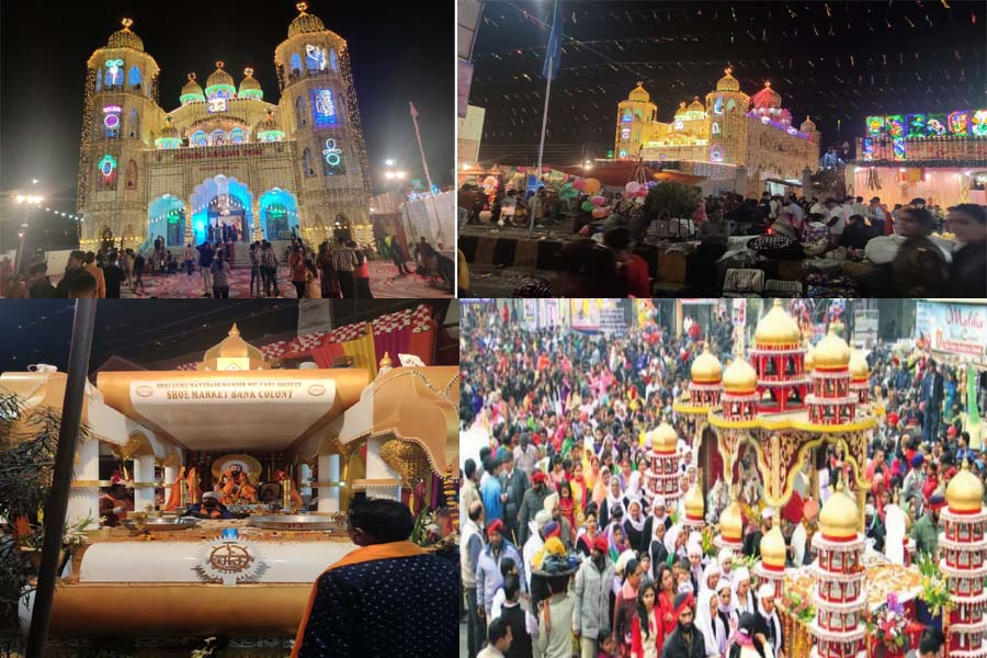 Sri Guru Ravidas Jayanti fair is being celebrated with great pomp in Jalandhar,
