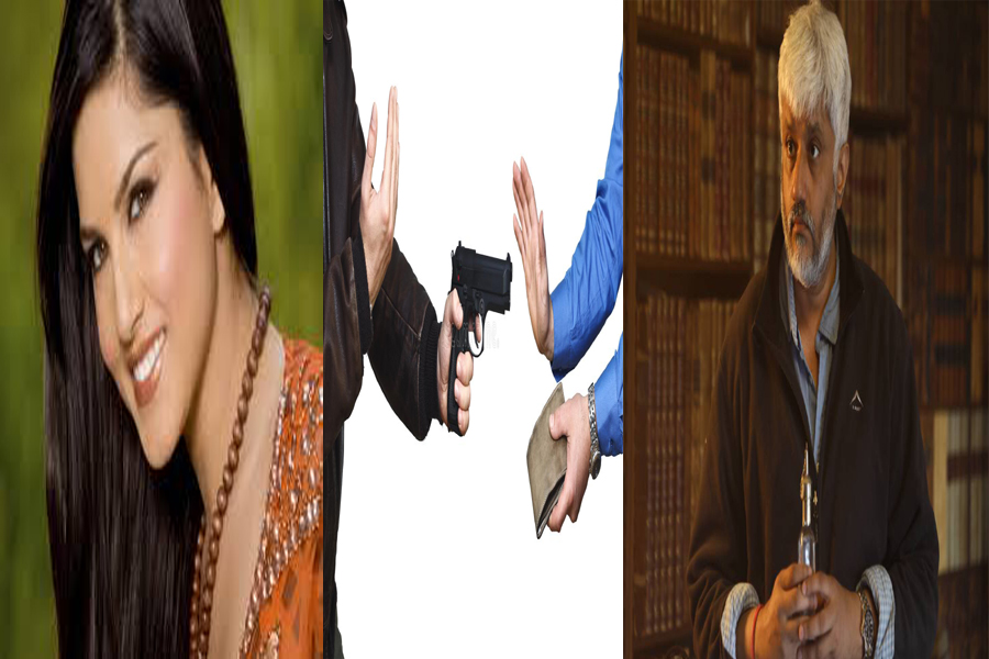 When Sunny Leone comes on the set, real gangsters go,
