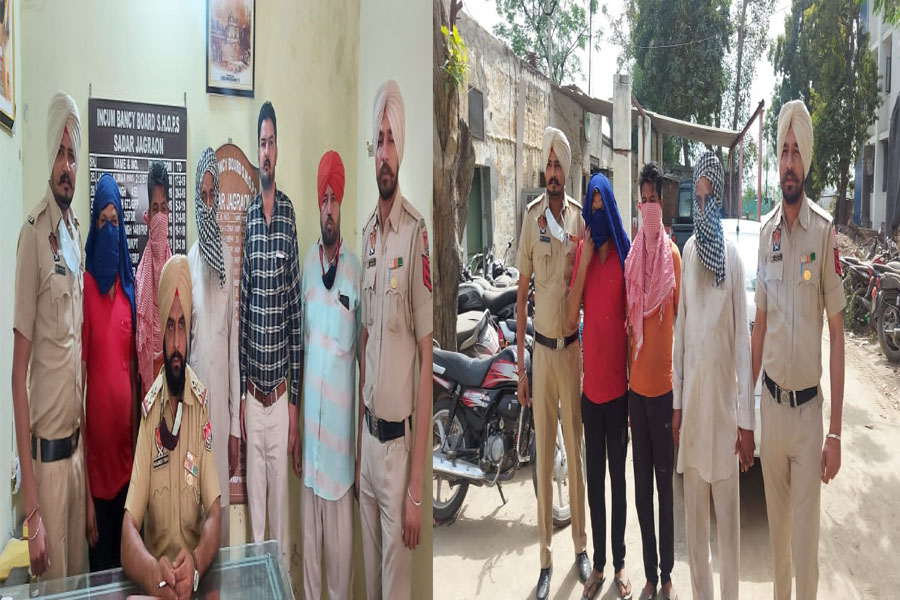 Police arrested three accused