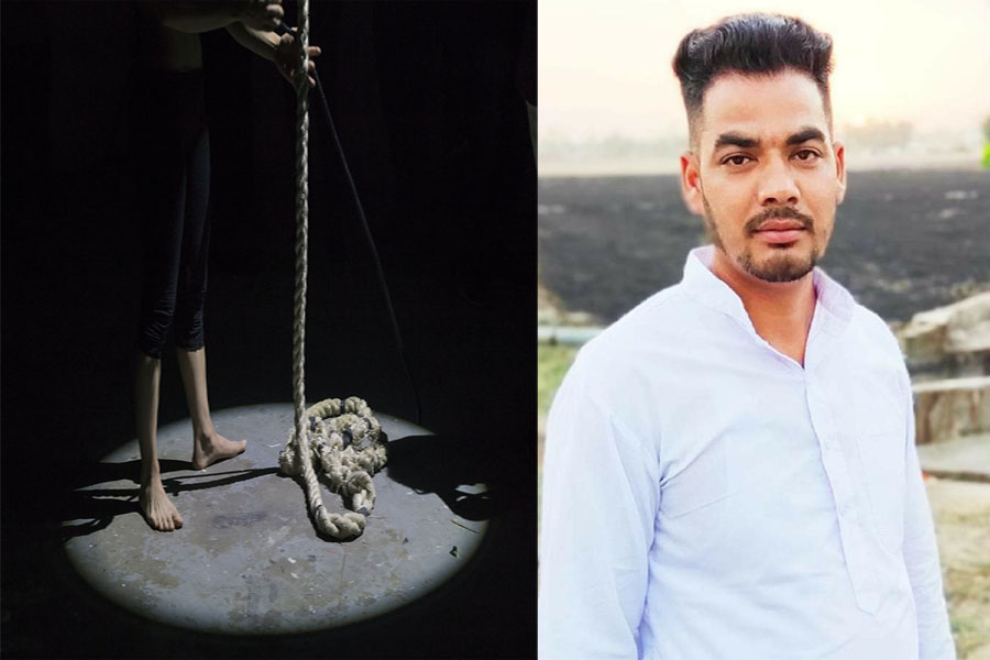 Youth commits suicide due to money transaction Returning