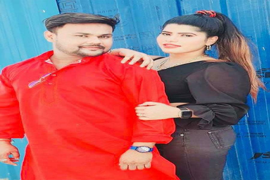 Shooting of Deepak Dildar and Shanaya Singhania's film