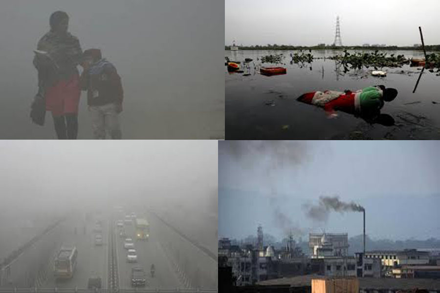 """Delhi gets the """"tag"""" of the most polluted capital in the world."""