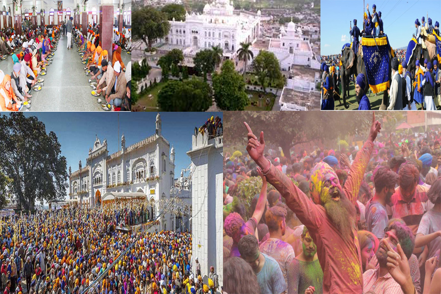Hola Mohalla started in Anandampur Sahib,