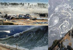 Tsunami alert: 12, thousand kilometers tsunami alert