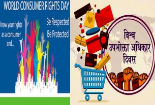 """When and why """"World Consumer Right Day"""""""