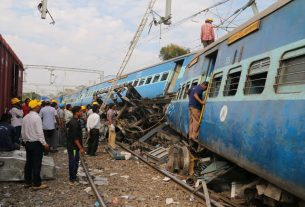 Train accident: Four people, including husband