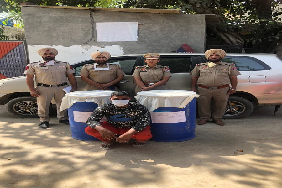 45 boxes of illegal liquor arrested