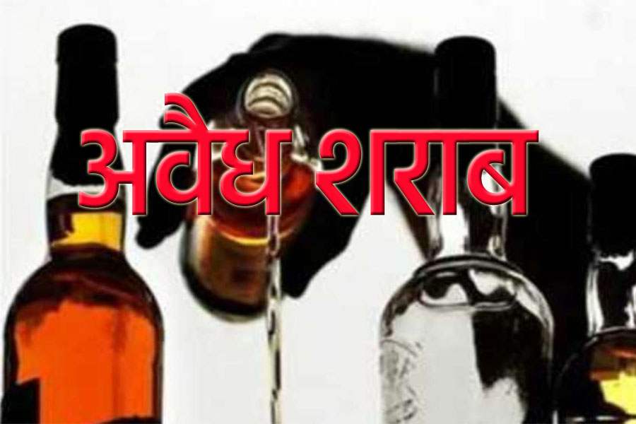 Two accused, including 100 liters of illicit liquor