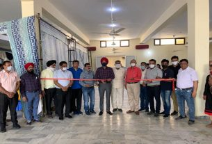 SDM inaugurated the white pearl examination camp
