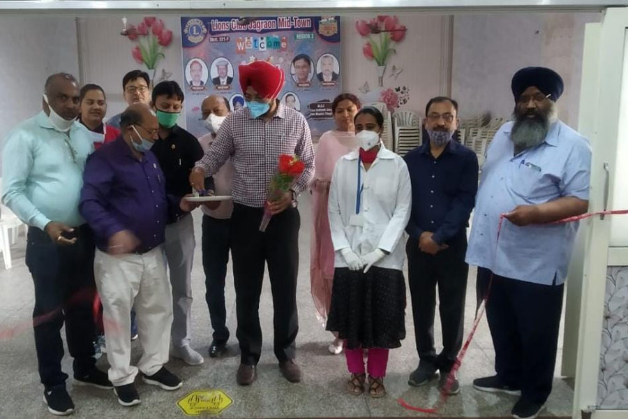 Lion Club set up vaccination camp in