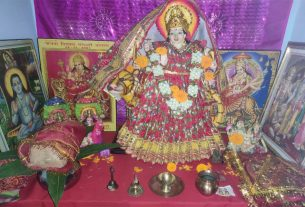Wishing Maa Shailputri Mata pooja method