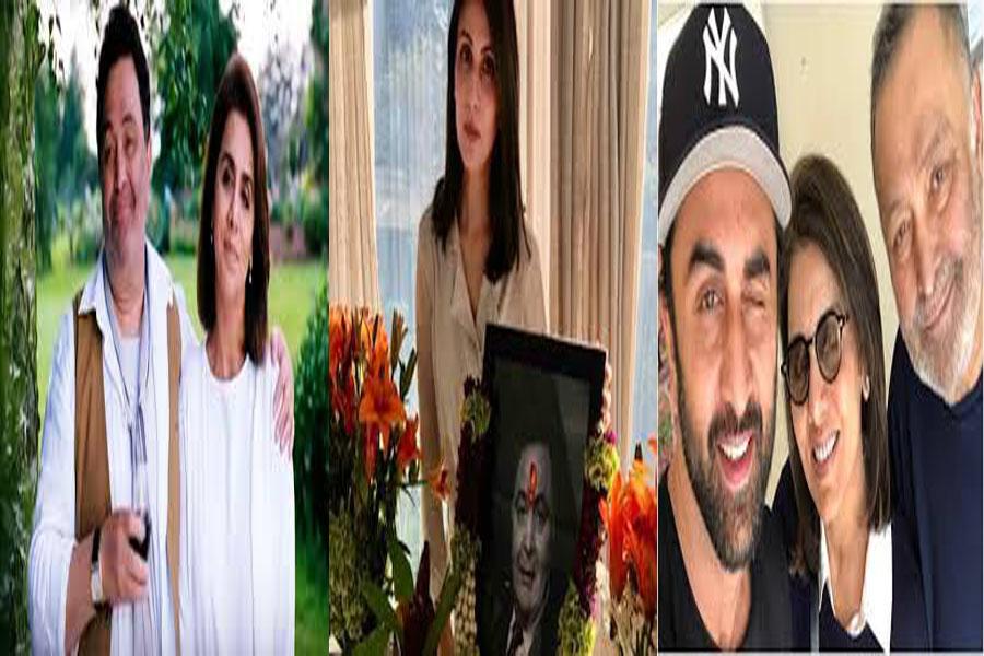 Neetu Kapoor is emotional on Rishi Kapoor's death anniversary
