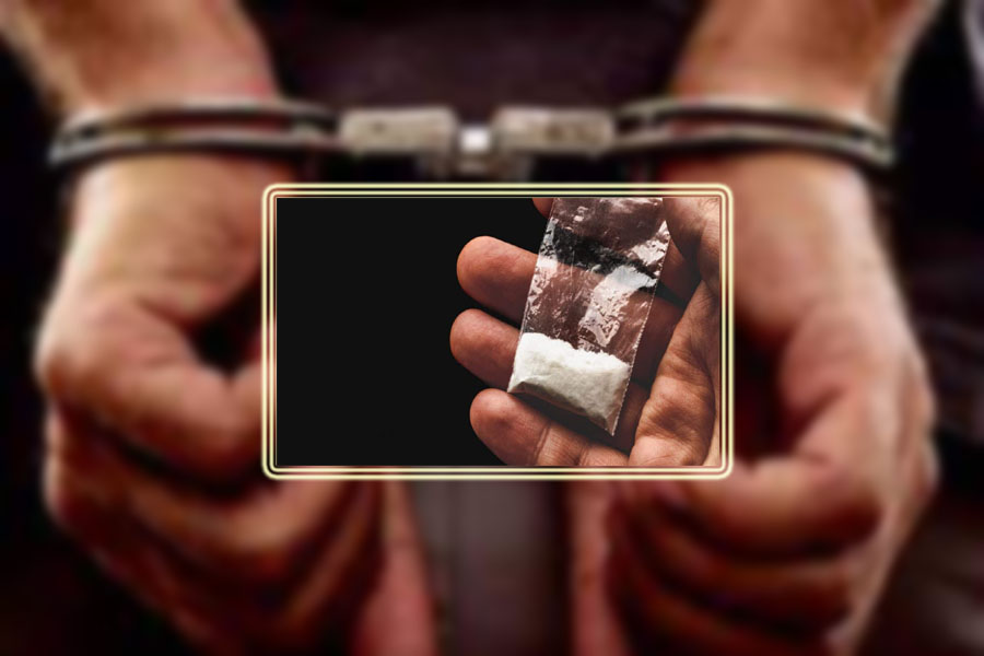 One accused held with 15 grams