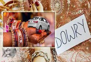Shameful: dowry greedy wife left her maternal