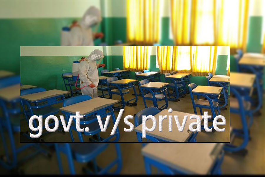 Government schools are opening with so many staff