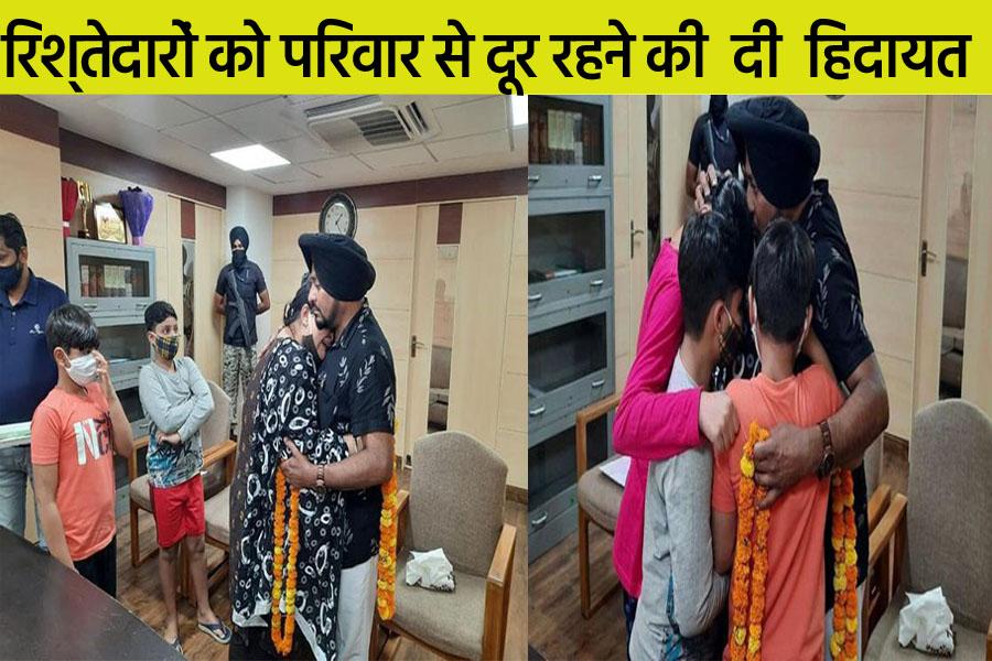 Dispute resolved: Punjabi singer Lehmber Hussainpuri settled domestic