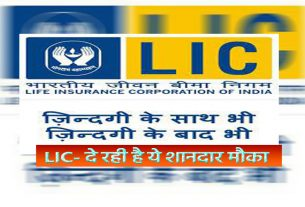 Restart the old policy of LIC